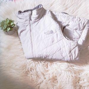 Gray Northface Vest